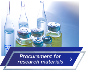 Procurement for research materials